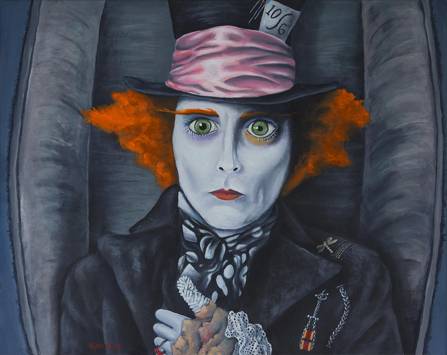 Mad Hatter Painting - Mad Hatter by Travis Radcliffe