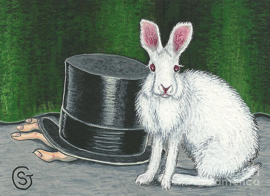 Mad March Hare -- Now You See How It Feels Painting