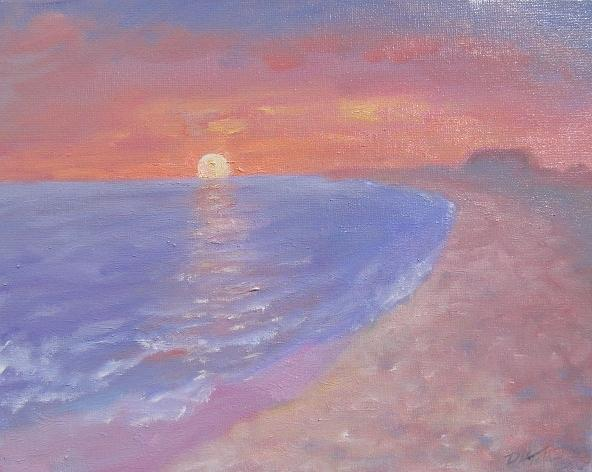 Madaket Sunset Painting