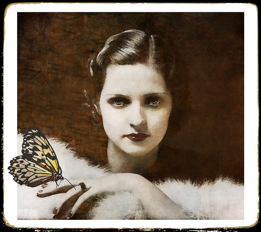 Madame Butterfly Digital Art