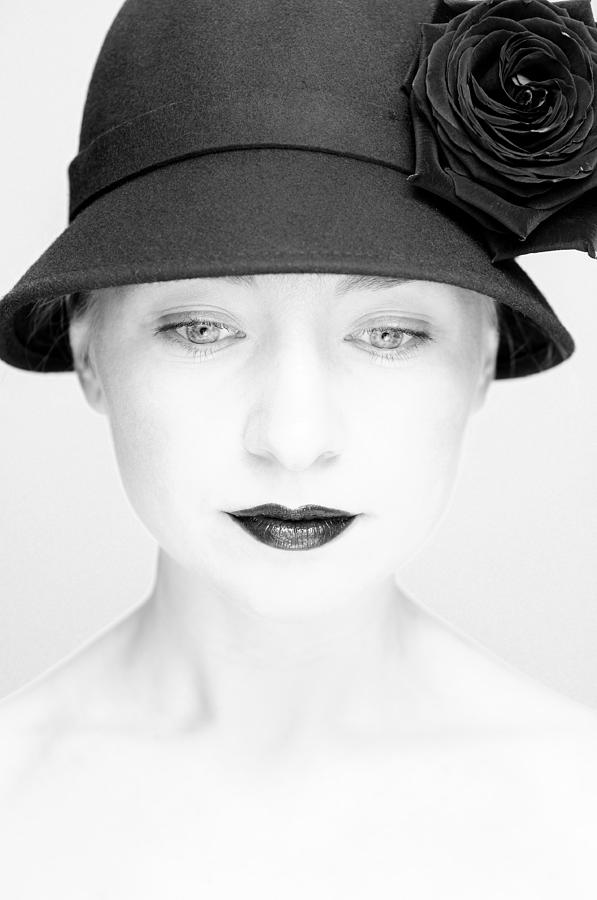 Portrait Photograph - Mademoiselle by Silvia Floarea Toth