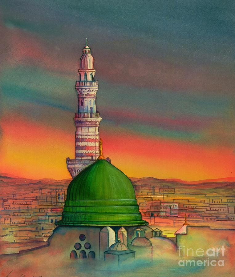 Madinah Canvas Painting