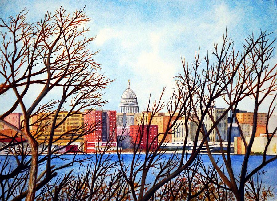 Madison Treed Painting  - Madison Treed Fine Art Print
