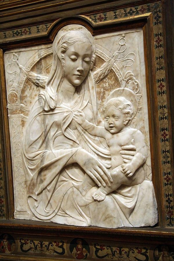 Madonna Photograph - Madonna And Child -- Agostino Di Duccio? by Cora ...