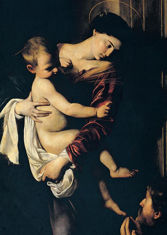 Madonna Di Loreto Painting