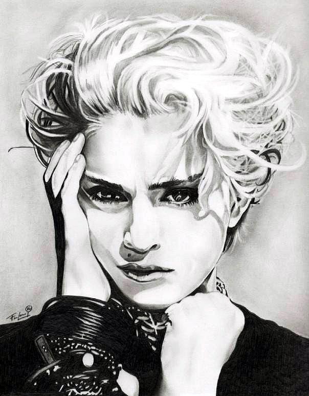 Madonna Drawing