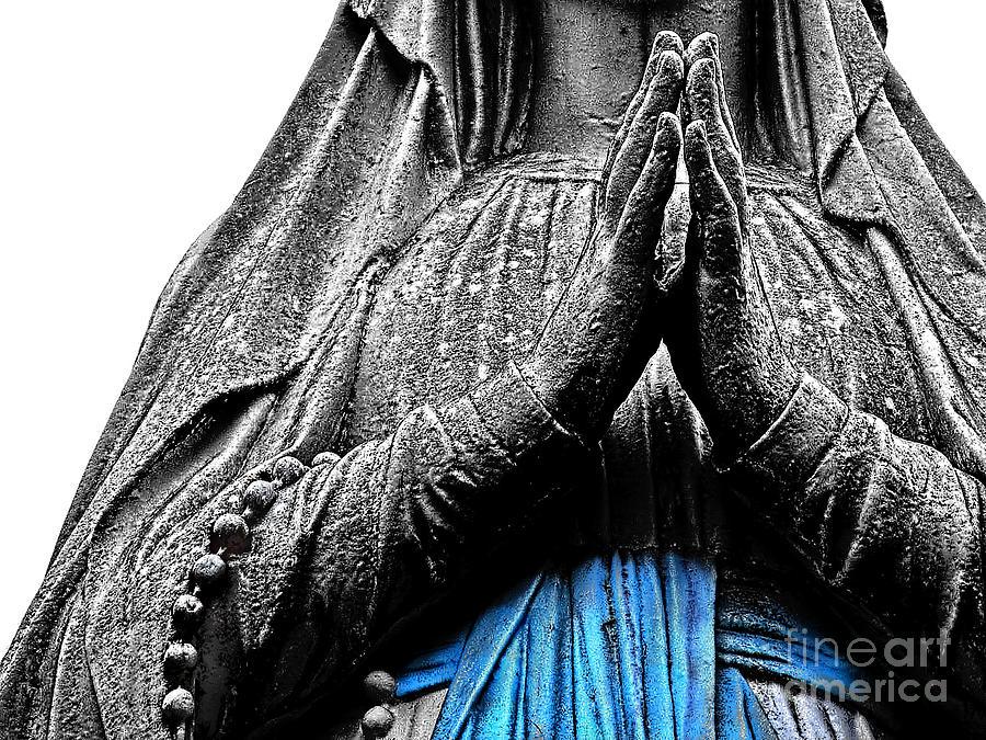 Belief Photograph - Madonna Of Lourdes   by Alexandra Jordankova