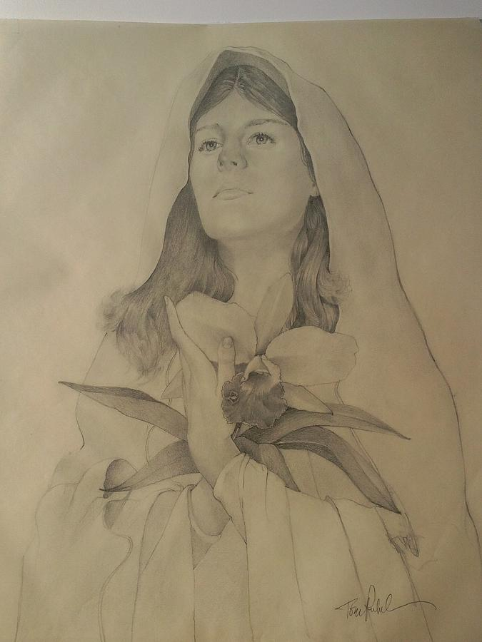 Madonna Of The Lidy Drawing