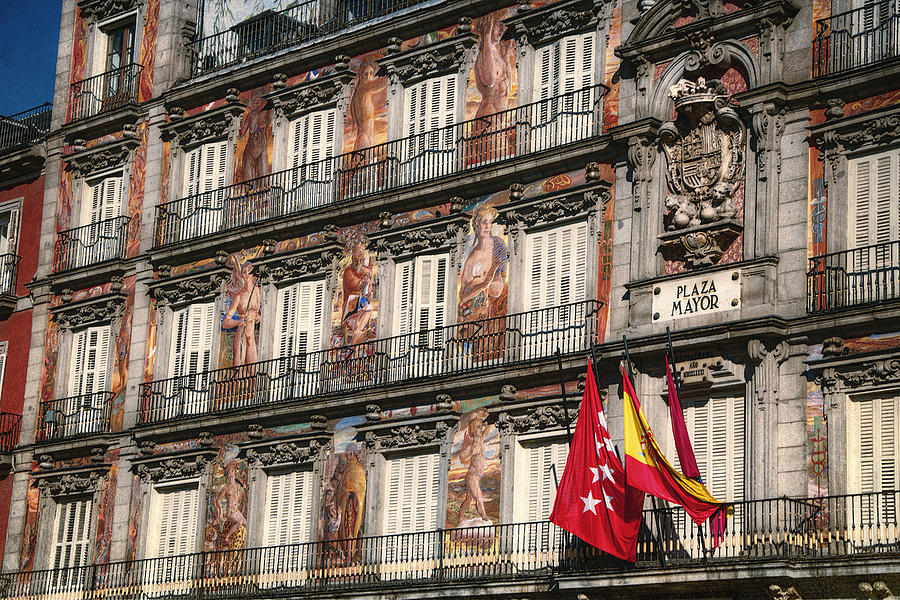 Madrid Murals Photograph