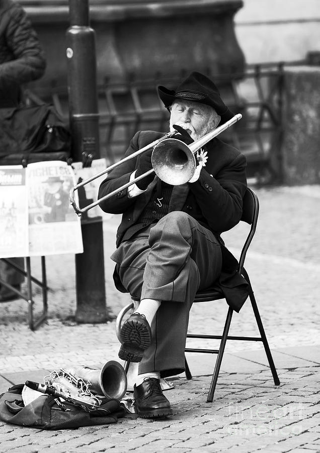 People Photograph - Maestro by John Rizzuto