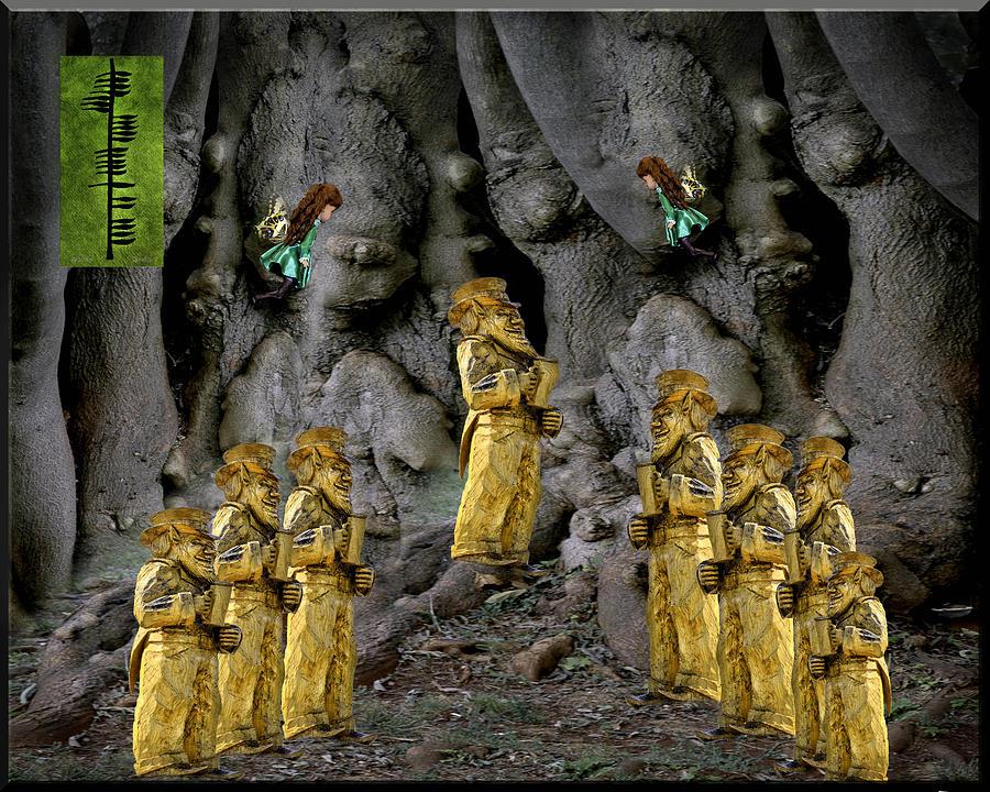 Magic As The Tree People Celebrate Health Photograph