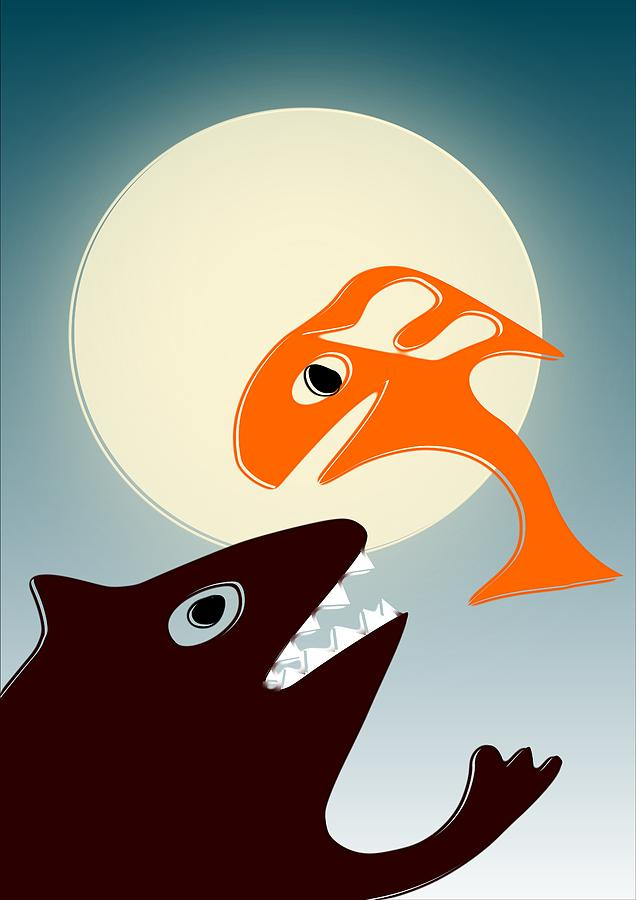 Magic Fish Digital Art