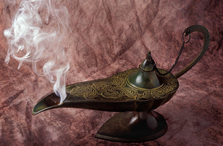 Magic Lamp Photograph