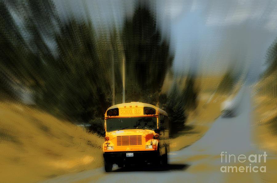 Magic School Bus Digital Art