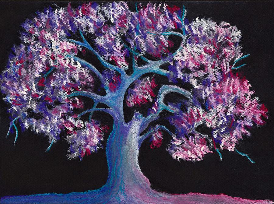 Magic Tree Drawing  - Magic Tree Fine Art Print
