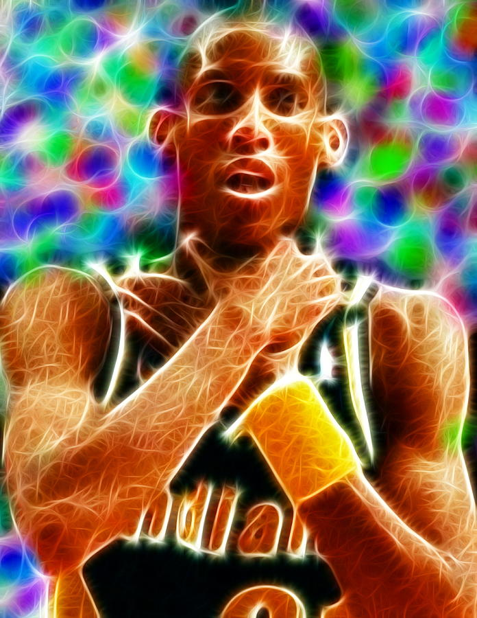 Magical Reggie Miller Choke Painting