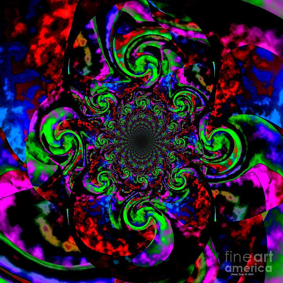 Magical Spell Abstract Art Digital Art