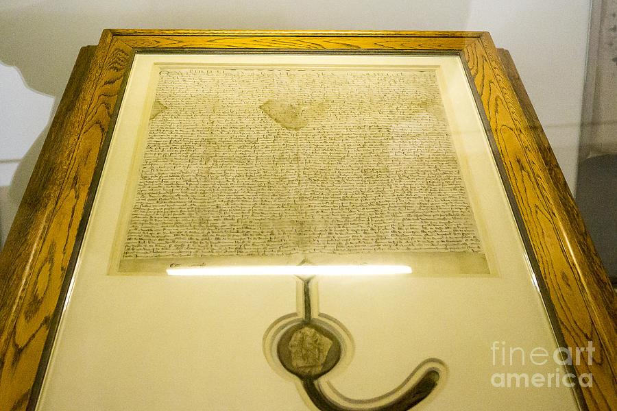 Magna Carta Photograph