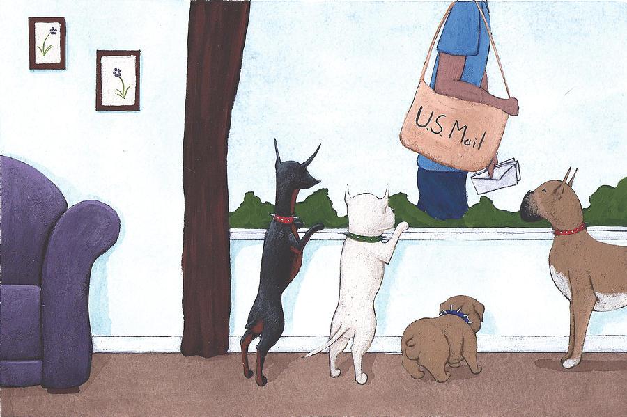 Mailman Painting