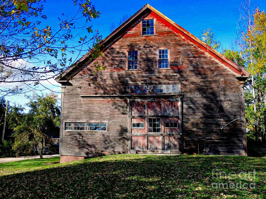 Architecture Photograph - Maine Barn by Marcia L Jones