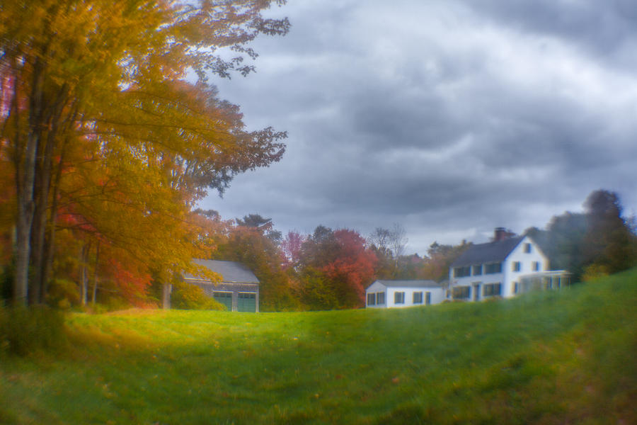 Maine Farmhouse  Photograph