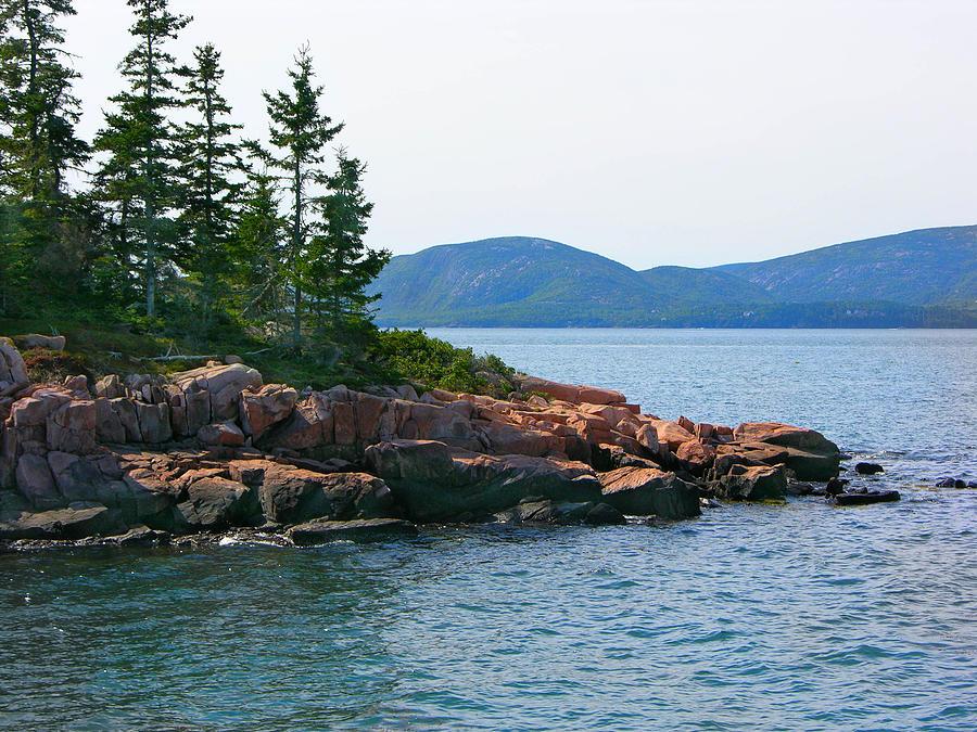 Maine Landscape Photograph by Karen Lambert