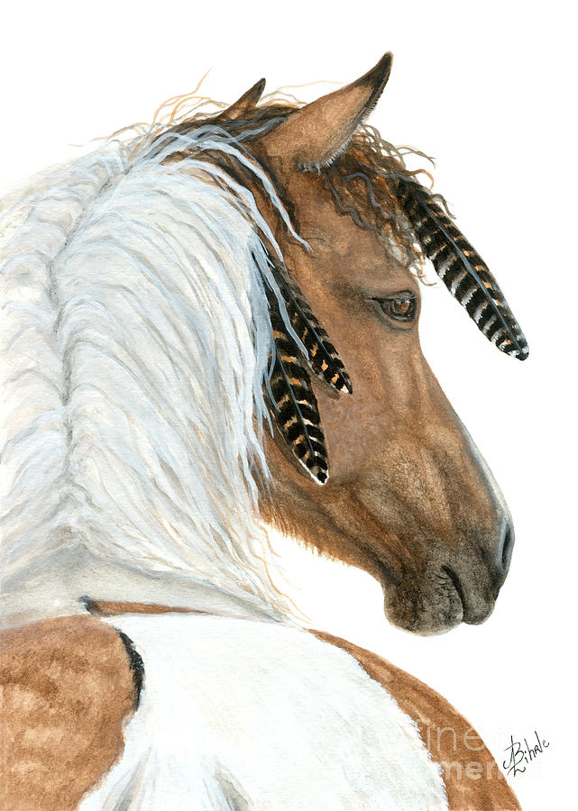Horse Painting - Majestic Horse Series 94 by AmyLyn Bihrle