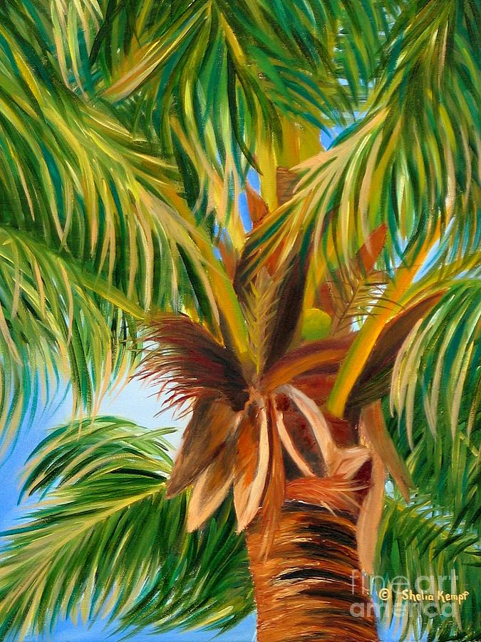 Majestic Palm Painting