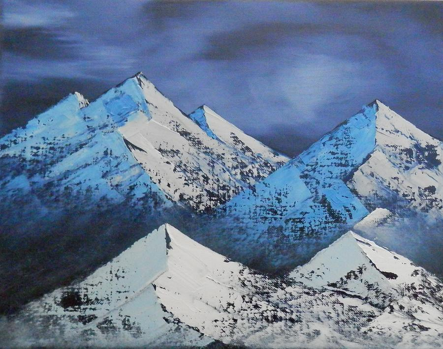 Majestic Rockies Painting