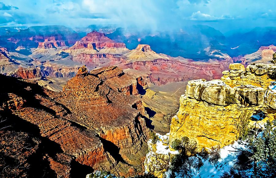 Majesty Of The Canyon Photograph