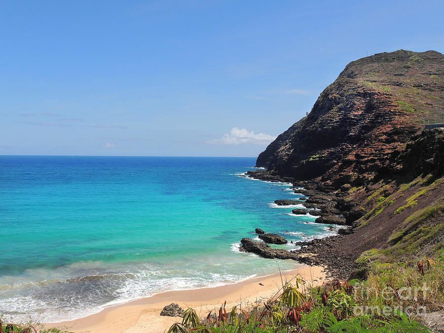 Makapuu Beach  Photograph  - Makapuu Beach  Fine Art Print