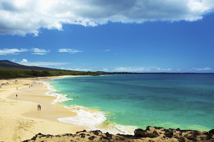 Makena Beach Lookout Photograph