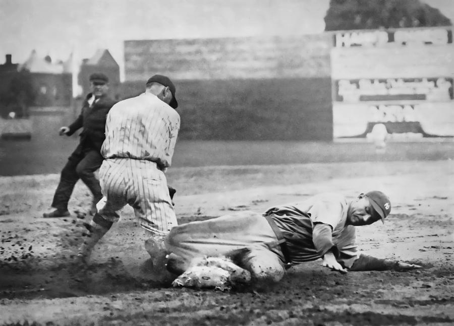 Making The Play C. 1920 Photograph