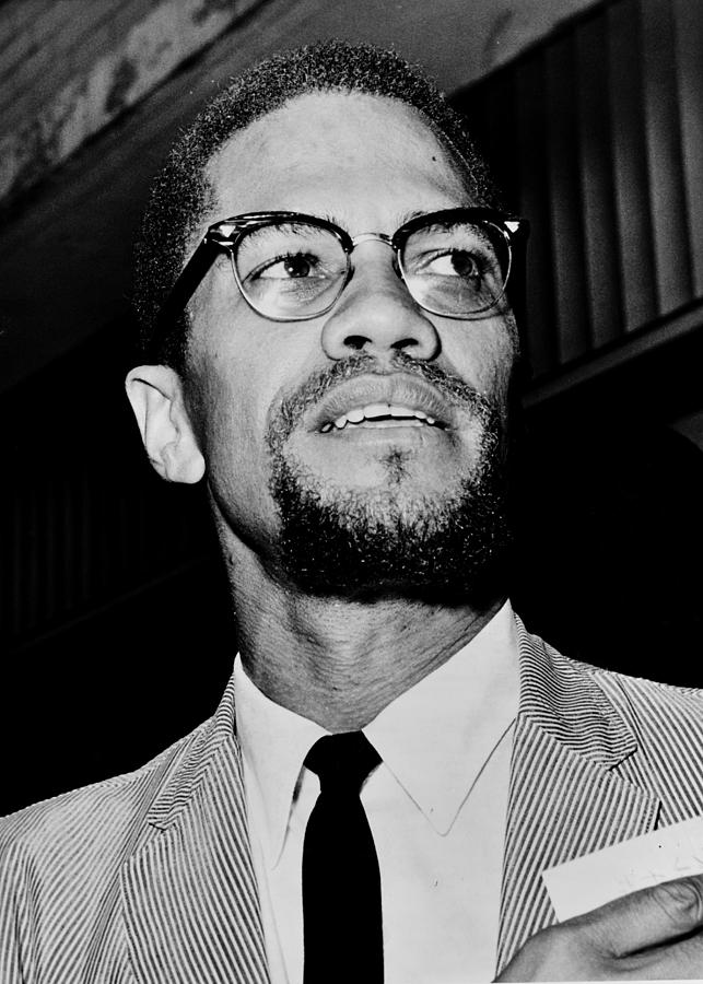 Malcolm X Photograph - Malcolm X by Benjamin Yeager