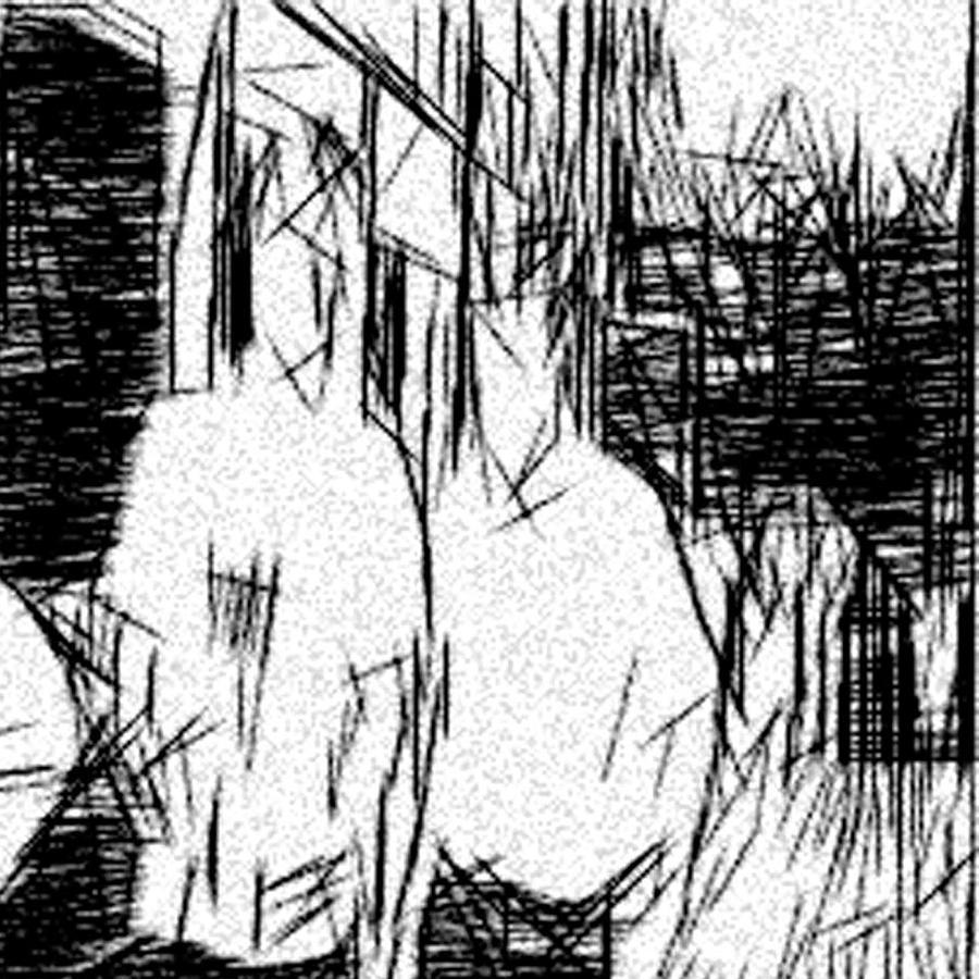 Male Bonding Drawing