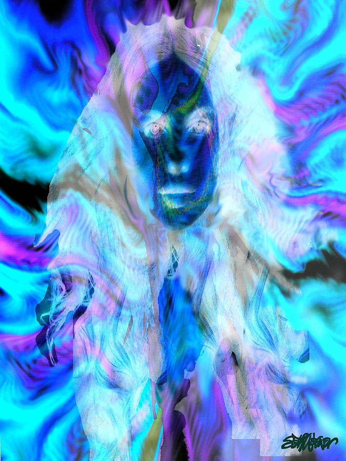 Malestrom Maiden Digital Art