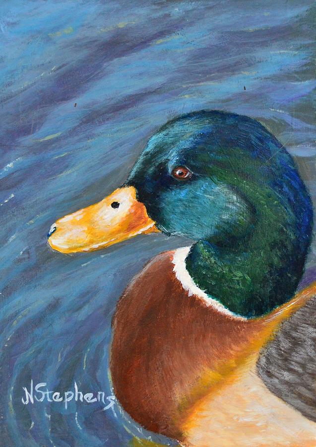 Mallard Painting