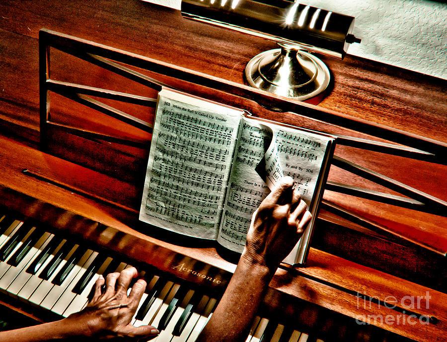 Music Photograph - Mommas Hymnal by Robert Frederick
