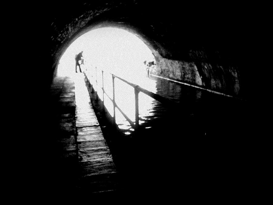 Man In Tunnel Photograph  - Man In Tunnel Fine Art Print