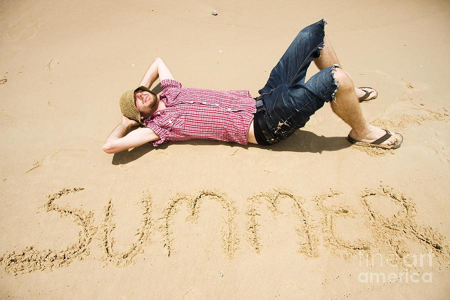 Man Of Summer Photograph