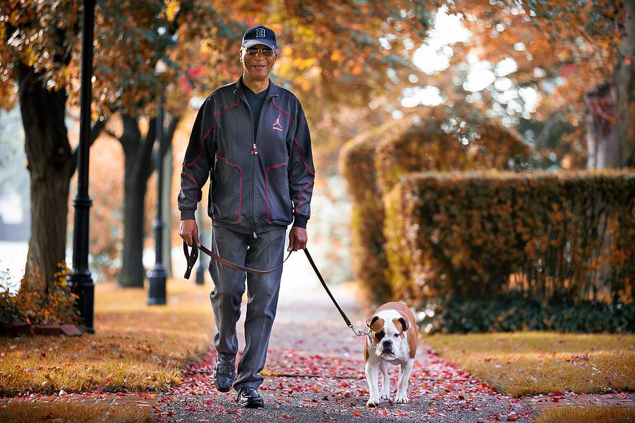 Man Walking Dog : Unspoken reality