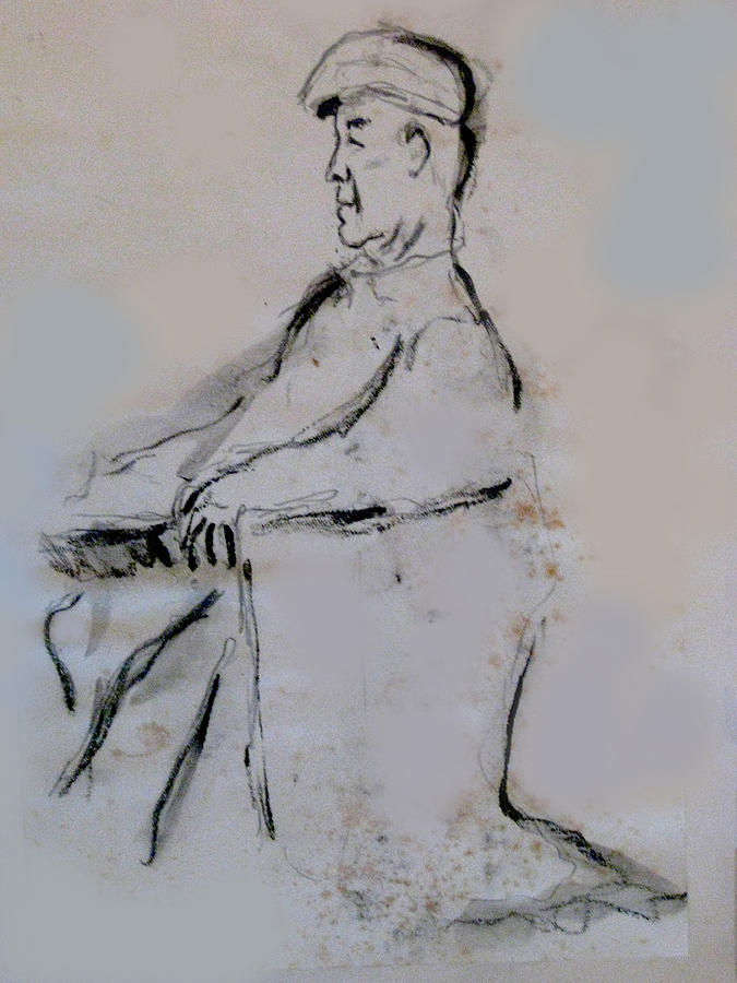Man With A Cap Painting