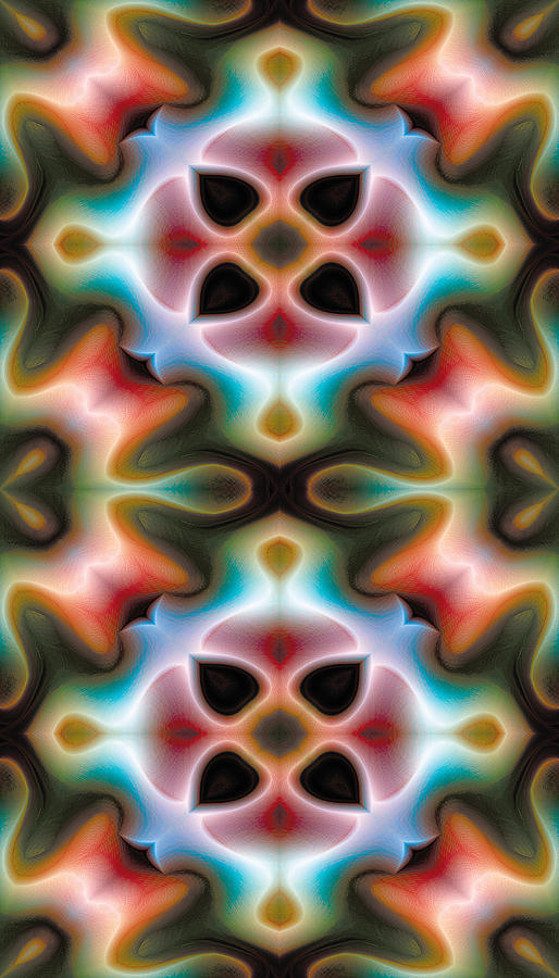 Mandala 82 For Iphone Double Digital Art