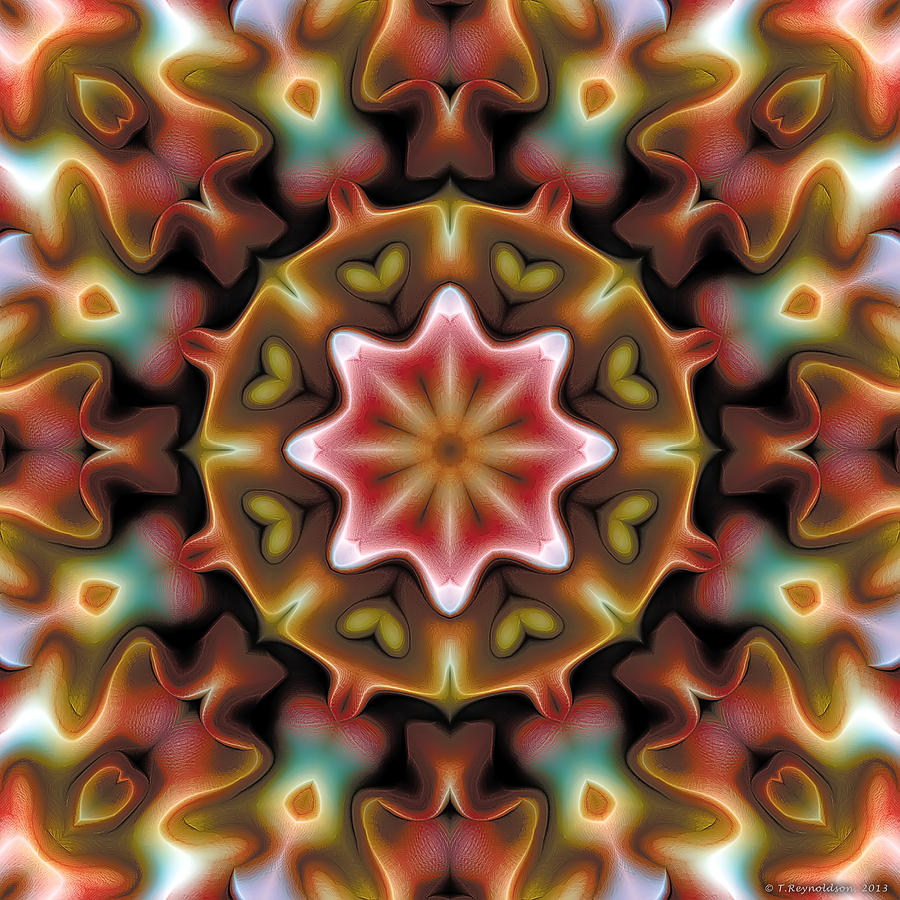Mandala 92 Digital Art