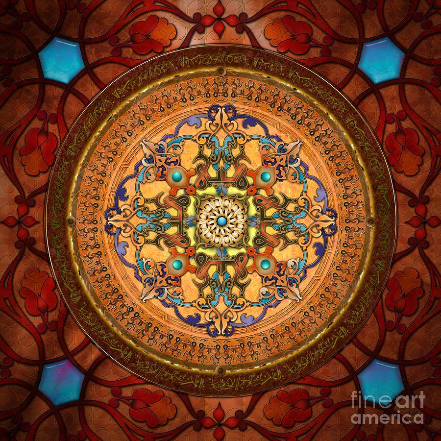 Mandala Arabia Digital Art