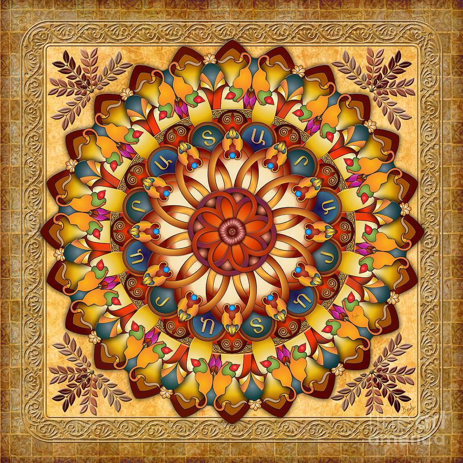 Mandala Ararat V2 Digital Art