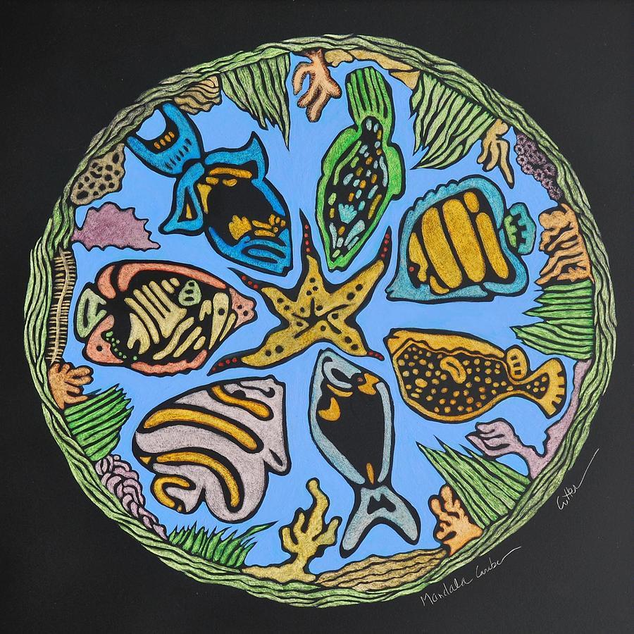 Mandala Caribe Painting