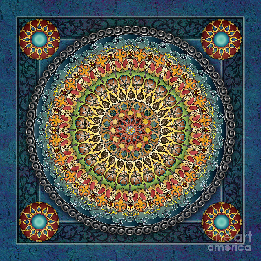 Mandala Fantasia Digital Art
