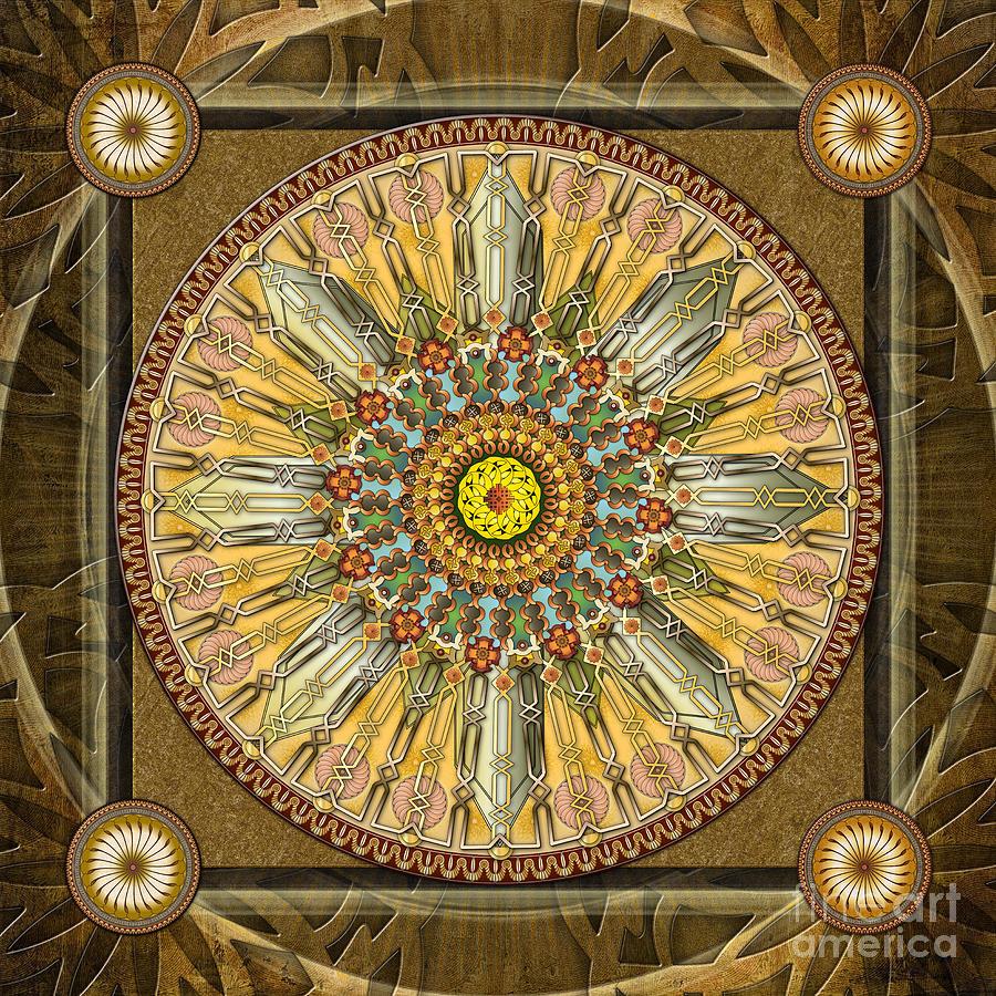 Mandala Illumination V1 Digital Art