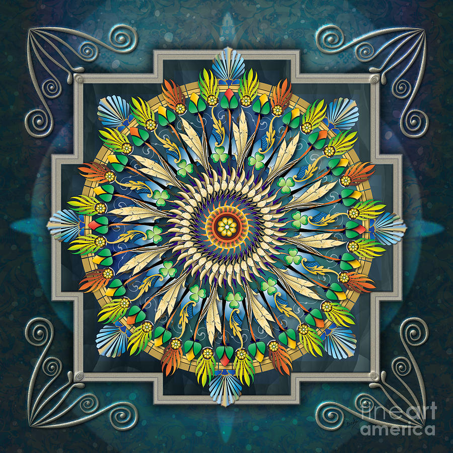 Mandala Night Wish Digital Art